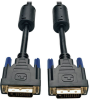 DVI Dual Link Cable, Digital TMDS Monitor Cable (DVI-D M/M), 1-ft. -- P560-001 - Image