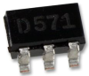 ON SEMICONDUCTOR - NUP2301MW6T1G - TVS DIODE ARRAY, 70V, SC-88 -- 880306
