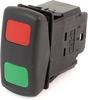 EATON SVR Sealed Rocker Switch, 12A, 12V/24V, On-Off-On, DPDT, SD4MLLFGXXRXXXX -- 43213