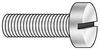 Mach Scr,Fillister,4-40x1 L,PK 50 -- 4AGZ5