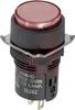 Switch, PILOT LIGHT, 24V, ROUND AC/DC LED, RED -- 70179948