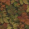 Allover Leaf Tapestry Fabric -- R-Parker - Image