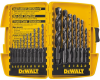 17-Pc. Black Oxide Drill Bit Set -- DW1167