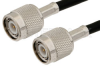TNC Male to TNC Male Cable 72 Inch Length Using RG223 Coax, RoHS -- PE3414LF-72 -Image
