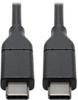 USB 2.0 Cable with 5A Rating, USB-C to USB-C (M/M), 3 ft. -- U040-003-C-5A - Image