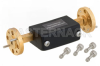 WR-12 Waveguide Fixed Attenuator, 21 dB, from 60 GHz to 90 GHz, UG-387/U Round Cover Flange -- PEWAT1001-21 -Image