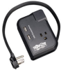Travel-Size Surge Suppressor with USB Charging Ports for Cell Phones, Music Players, and PDAs -- TRAVELER3USB