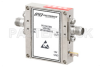 44 dB Gain, 4 dB NF, 11 dBm P1dB, 18 GHz to 40 GHz, Low Noise Broadband Amplifier, 2.92mm -- PE15A3305 -Image