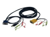 Tripp Lite P756-010 - video / USB / audio cable - 10 ft -- P756-010 %PUB