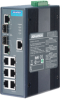 6Gx+2 Combo Managed Ethernet Switch with Wide Temperature -- EKI-2748CI -Image