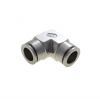 Stainless Steel Body (316) with stainless Steel Release Ring Union Elbow, Inch & Metric