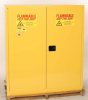 Eagle 110 gal Yellow Hazardous Material Storage Cabinet - 58 in Width - 65 in Height - Bench Top - 048441-00045 -- 048441-00045 - Image