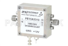 29 dBm IP3, 4 dB NF, 17 dBm P1dB, 0.3 MHz to 6.5 GHz, Low Noise Broadband Amplifier, 39 dB Gain, SMA -- PE15A3310 -Image