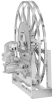 Series 5300 Single Wrap Power Rewind Reel -- 5319-62-64-30