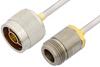 N Male to N Female Cable 36 Inch Length Using PE-SR402AL Coax -- PE34289LF-36 -Image