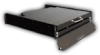 Daylight Readable SlimLine Micro™ Rugged, 1U Rack Mount, Flip-up or Flip-down, Flat Panel LCD Monitor -- DSLM-19W-963