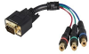 StarTech.com Breakout Cable Adapter - VGA adapter - HD-15 (M -- HD15CPNTMF