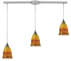 10218/3L-ERH Island/Pool Table-3 Light Bar -- 607016