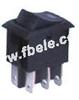 Miniature Rocker Switch -- MRS-202-3 ON-ON - Image