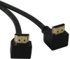 High Speed HDMI Cable with 2 Right Angle Connectors, Digital Video with Audio (M/M), 6-ft. -- P568-006-RA2 -- View Larger Image