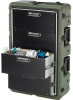 Pelican Roto-Molded 4 Drawer Medical Supply Case - Olive Drab -- PEL-472-MEDCHEST3-4D-137 -Image