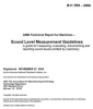 Sound (Noise) Level Measurement Guidelines - Electronic Copy -- ANSI B11.TR5-2006
