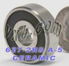 627-2RS Ceramic Bearing Sealed ABEC-5 Oil 7x22x7 -- Kit8884