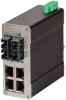 106FX2 Unmanaged Industrial Ethernet Switch, SC 15km