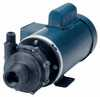 Cole-Parmer Sealless Centrifugal Pump, PVDF Magnetic Drive, 69GPM - 54FT, three phase, 1HP TEFC motor -- EW-72223-40