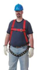 Full-Body Harness,Vest Style,M/L,Red -- 3PUA5
