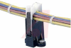 Clip, harness; Screw mnt; 1.25ö I.D.; 0.44öW x 1.64öL x 2.86öH; Qty 10 -- 70044527 -- View Larger Image