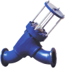 Inline Type Flange End Relief Valve -- Model D-AA