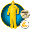 KLEENGUARD(R) A70 Chemical Spray Protection Apparel with Bound Hood, 3X-Large -- 036000-09816