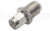 Coaxial Adapter, SMA Male / Mini UHF Female -- BA582