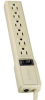 Waber-by-Tripp Lite 6-outlet Power Strip with 4-ft. Cord -- PS6
