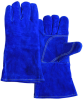 Chicago Protective Apparel Blue Split Cowhide Leather Welding Glove - CPA SA2-B -- CPA SA2-B - Image