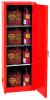 Flammable Liquid Safety Storage Self-Close Cabinet -- CAB137-RED