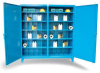 Two-Shift Storage Cabinet -- 66-DS-242-8PH/40VD-SB - Image