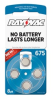 Mercury Free Hearing Aid Batteries Size 675 8-Pack -- L675ZA-8ZM - Image