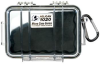 Pelican 1020 Micro Case - Clear with Black Liner -- PEL-1020-025-100 -Image