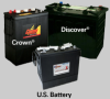 EV Traction Dry Cell Batteries -- EV185A-A-24 - Image