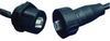 AMPHENOL PCD - USBBF6100 - COMPUTER CABLE, USB 2.0, 1M, BLACK -- 870502 - Image