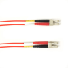 10m (32.8ft) LCLC RD OM1 MM Fiber Patch Cable INDR Zip OFNR -- FOCMR62-010M-LCLC-RD - Image