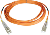 Duplex Multimode 62.5/125 Fiber Patch Cable (LC/LC), 0.3M (1-ft.) -- N320-001