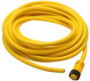 CABLE 6m (19.69ft) 7/8in MINI Q/D AXIAL FEMALE 4-PIN/4-WIRE PVC YEL -- CSMS4A4CY1606