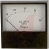 AC Voltage Meter; 0 to 25 VAC; Iron-Vane; High Density Black Phenolic; + 2% -- 70209477