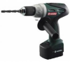 Metabo BSP12 Plus 12V Cordless NiCD Drill/Driver 602419520 -- 602419520