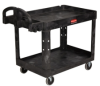 2 - Shelf Heavy Duty Utility/Service Cart -- 8097 - Image