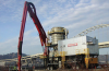 High Capacity Vacuum Ship Unloader -- 600 TPH