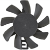 2.64 Watt (W) Power PLA07015B-F Series Type F Frameless Fan -- PLA07015B12H-F -Image